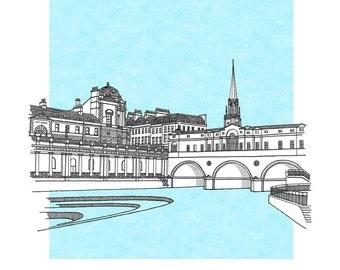 Pulteney Bridge, Bath Limited Edition Print