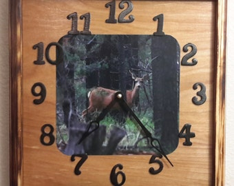 Deer Clock   price reflects 20% discount
