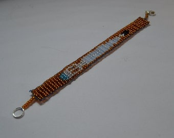 BBC Doctor WHO beaded sonic screwdriver bracelet