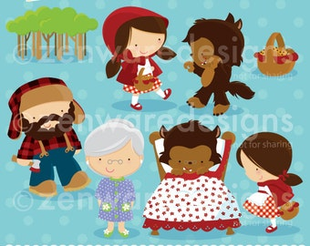 Red Riding Hood Clipart