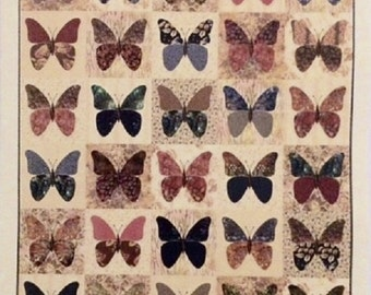 Butterflies Quilt Pattern - Edyta Sitar - Laundry Basket Quilts - LBQ-0472-P