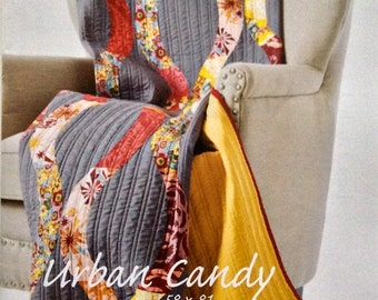 Urban Candy Quilt Pattern - Sew Kind of Wonderful - SKW 103 - QCR Pattern