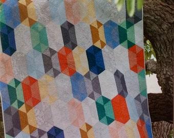 Disco Quilt Pattern - Julie Herman - Jaybird Quilts - JBQ 138