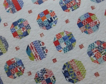 Happy Friday Quilt Pattern - A Quilting Life Designs - Sherri McConnell - 116 - Jelly Roll or Layer Cake Friendly