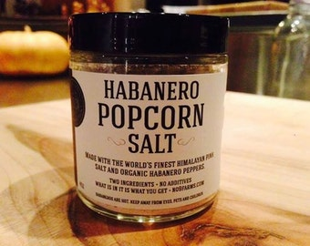 Habanero Popcorn Salt from No.9 Farms