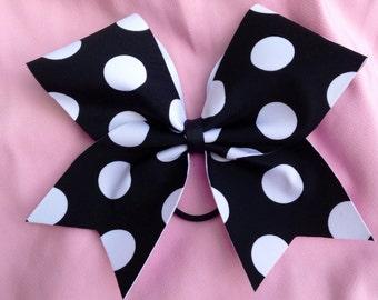 Items Similar To Cheer Dance Or Gymnastic Hair Bow Black