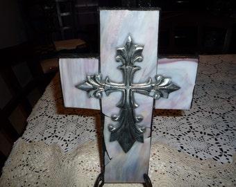 Heavy Glass Cross
