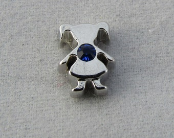 Birthstone Girl September Floating Charm for your Origami Owl and other glass lockets