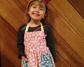 Child's Apron/sizes 3-4, 5-6, 7-8, 10