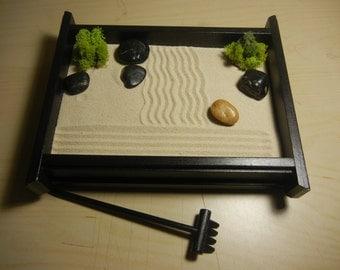 M 02 Medium Desk Or Table Top Zen Garden By Critterswoodworks