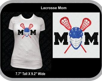 Lacrosse Mom SVG Cutter Design INSTANT DOWNLOAD