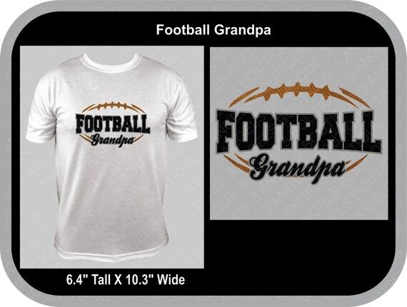 Football Grandpa Silhouette Svg Cutter Design Instant Download