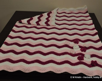 Crochet baby blanket by EMKristin, Sweden