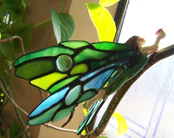 Celtic Stained Glass  Fairy