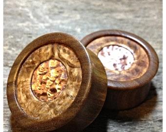 32mm Lignum vitae wood plugs