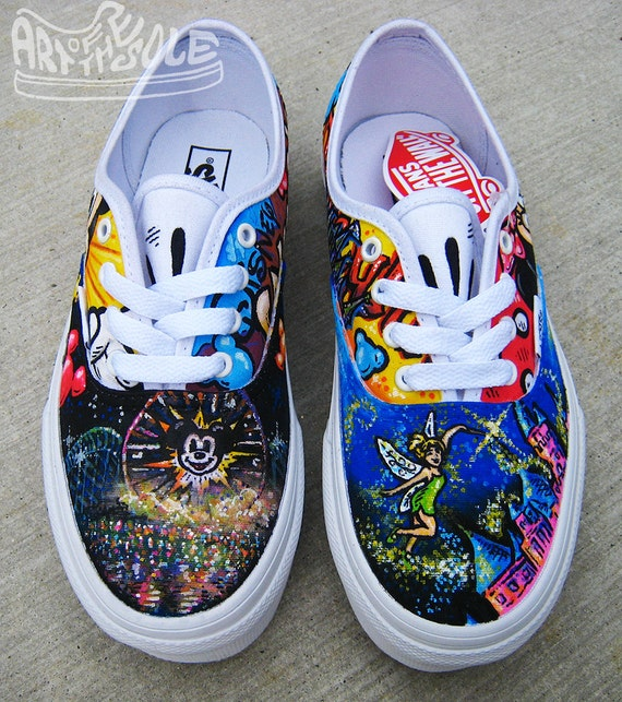 How To Paint Vans Shoes