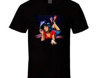 Uma Thurman - Pulp Fiction -  T Shirt