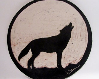 Howling Wolf Tile
