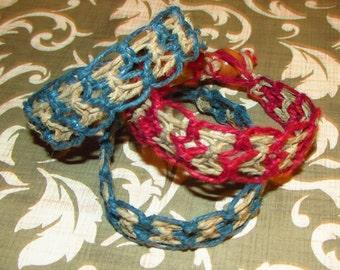 Woven Hemp Bracelet