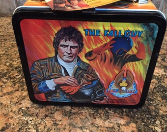 1981 Fall Guy Metal Lunch Box