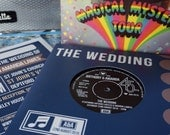 Wedding/ Party Invitations - REAL Vintage Vinyl Record Design