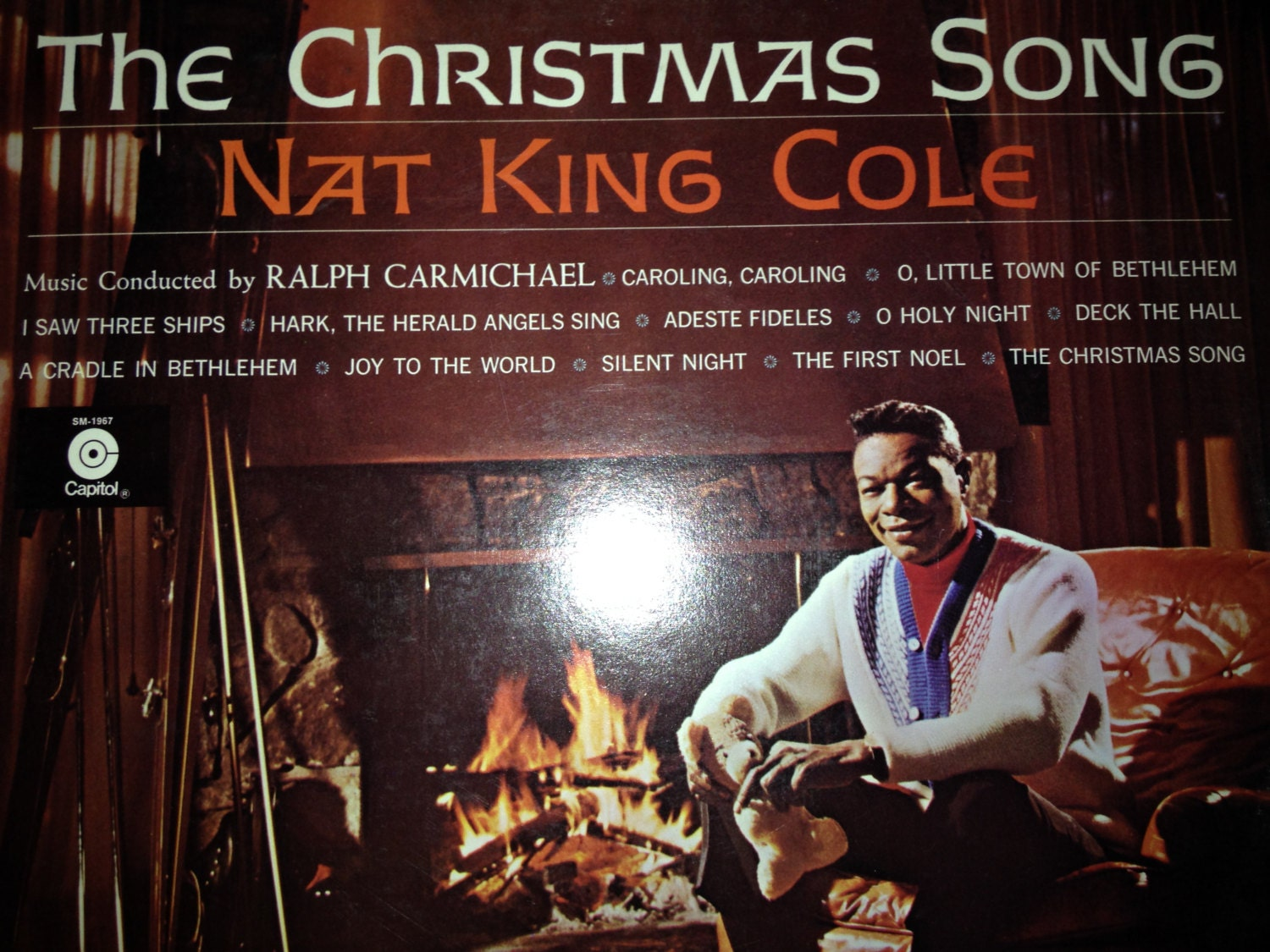 Nat King Cole The Christmas Song-vinyl record
