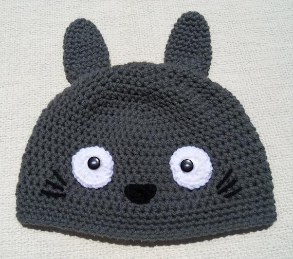 Crochet Pattern Totoro Hat : crochet totoro hatcrochet pokemon hatcrochet hat by Handmade75