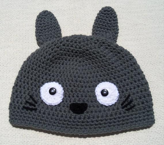 crochet totoro hatcrochet pokemon hatcrochet hat by Handmade75