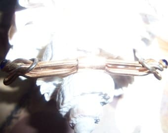 Vintage art deco men's tie bar 1932