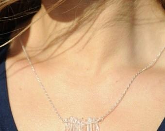 SALE**  Tiny Quartz Necklace (was 95.00)