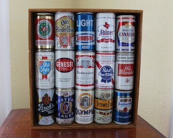 Beercan Display