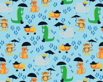 Umbrella Animals Fabric