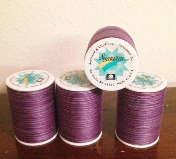 variegated machine quilting thread