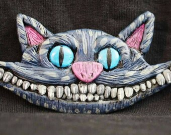 Smiling Cheshire Cat Magnet
