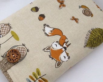 Woodland Fox iPad Pro Air Mini / Kindle / Samsung Tablet Cover / Case / Sleeve