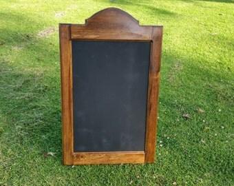 Cathedral top chalkboard frame,  chalkboard signs by choochooframe. Rustic chalkboard