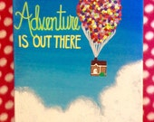 Adventure Is Out There UP Canvas