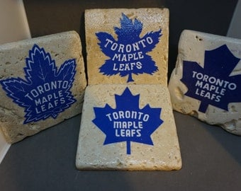 Toronto Maple Leafs Logo History (4-Pack)  Coasters