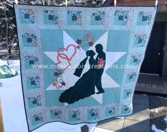 From This Moment A Wedding Quilt Pattern By Morelcabin