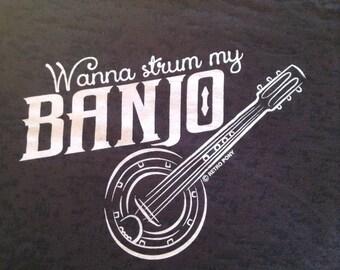 Wanna strum my Banjo?  Gypsy Boho style or just plain hillbilly!