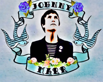 Johnny Marr Greeting Card