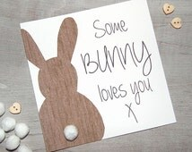 Some Bunny Loves You Valentine's Day Card