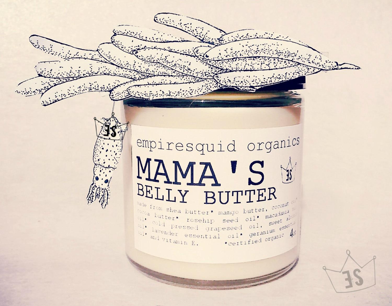 Organic Stretch Mark Cream Mama S Organic Belly Butter