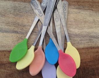 SALE: Colorful Metal Gerber Spoons