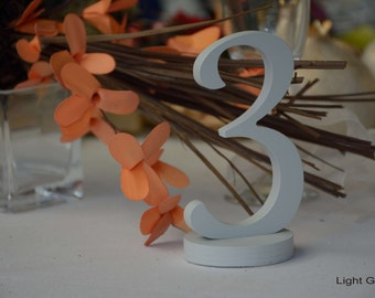 Wedding tables table NUMBERS, numbers, gold table numbers, wood table numbers, numbers wedding, table numbers, grey numbers, blue numbers