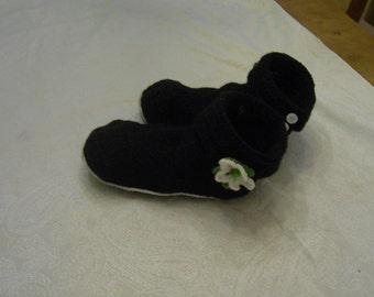 crocheted slippers Gr. 40-41