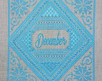 Birthstone Series: Turquoise PDF Chart by Northern Expressions Needlework