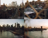 new york city postcards - individual