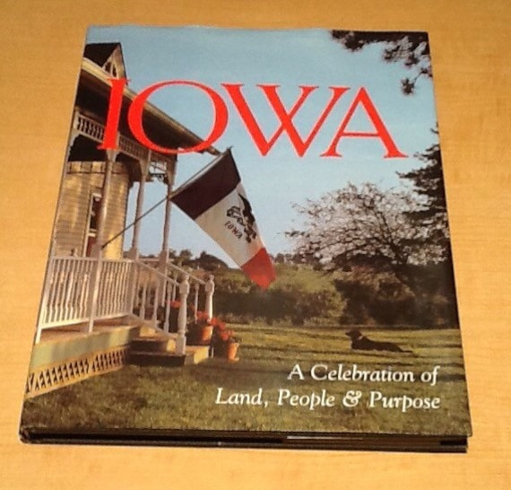 Best Vintage Coffee Table Books: Vintage 1995 Coffee Table Book Iowa A Celebration Of