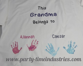 This Mom Dad Grandma Grandpa Aunt Uncle Friend Sister Brother Belongs To Adult T-Shirt